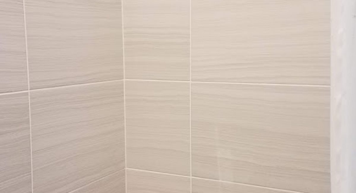 12x24 tile shower remodel