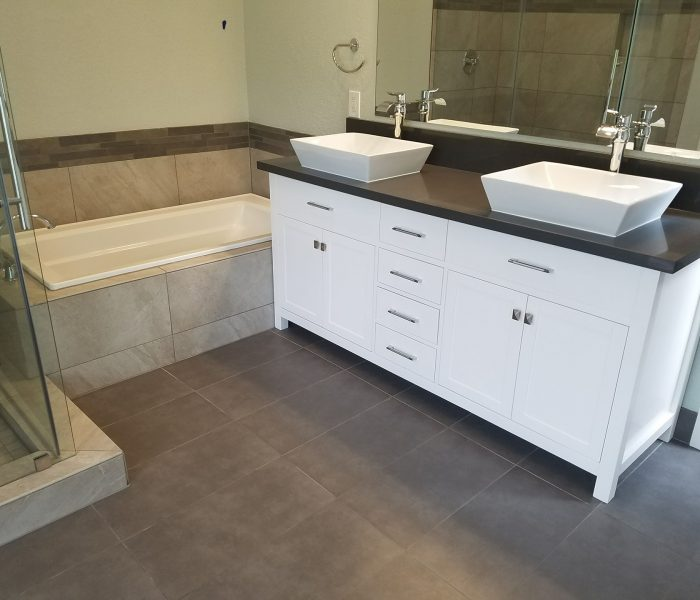 Bathrooom extension in Camas WA